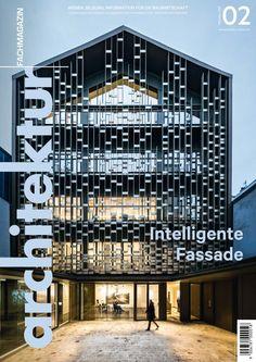 architektur Fachmagazin Ausgabe 2/2020 Multi Story Building, Public, People, Ideas, Architecture, People Illustration, Thoughts, Folk