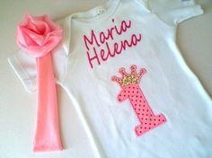 Camiseta Ou Body - Princesa