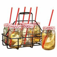 13-Piece Halton Drink Caddy Set
