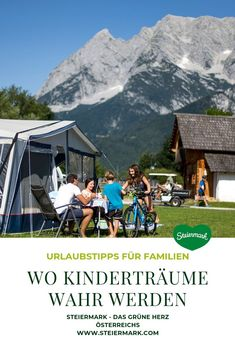 Einschlafen für kleine Entdecker: Im Zelt, im Baumhaus oder in der urigen Hütte, gemeinsam mit der Familie, lässt es sich besonders gut ins Land der Träume sinken. Übernachtungs-Tipps in der Steiermark im Familien-Check.