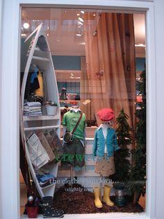 kids window display