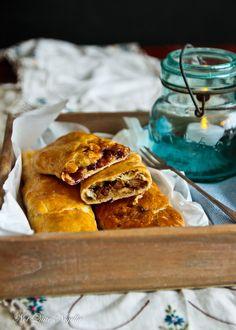 Bedfordshire Clanger   British roast pork suet pastry