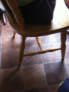 """""""Only held together by glue. Can't wait for someone to sit down. Hahahhahahahahahaha""""  Ok, so this isn't such an amazing fix!"""