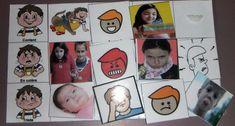 Activités sur la reconnaissance des émotions et des expressions #Pictos camilletedautisme