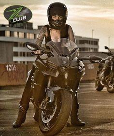 Lady Biker, Biker Girl, Motorbikes, Goal, Black, Motorcycle, Club, Bed, Women
