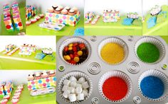 I love this idea of having the kids decorate their own cupcake!