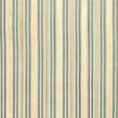 Baltic Stripe #fabric in #beige on #aqua from the Residence collection. #Thibaut