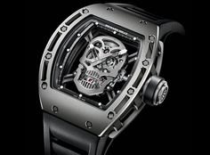 Richard Mille Tourbillon RM 052 'Skull'