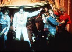 On stage Hilton 1975