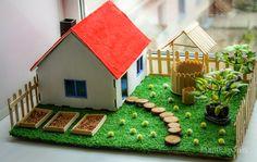 Весенний домик из фанеры