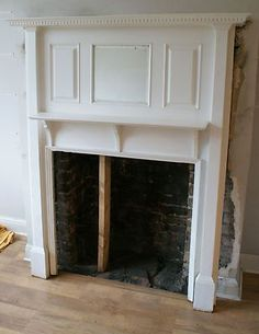 1930s Large Antique Oak Mantlepiece Mirror Mantle Fire Place Surround