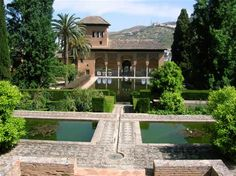 Alhambra, Spain, a half a century has not removed the peaceful tranquility of this place!