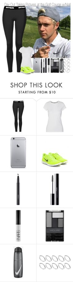 """Day Out Taking Pictures at the Golf Course with Niall"" by elise-22 ❤ liked on Polyvore featuring Topshop, NIKE, MAC Cosmetics, shu uemura, NARS Cosmetics, Wet n Wild and ASOS"