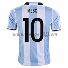 maillot de foot équipe nationale Argentin 2016 Lionel Messi 10 maillot domicile