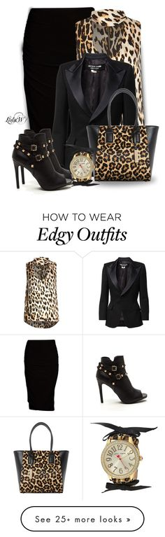 """""""Work Day"""" by warleda on Polyvore featuring Viereck, River Island, Junya Watanabe Comme des Garçons, Dune and Betsey Johnson"""