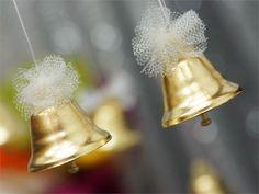 Gold Wedding Bells - 24/pk | eFavorMart