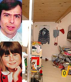 The room where Natascha Kampusch was held for eight years by Wolfgang Priklopil (May 14, 1962 – August 23, 2006). In 1998, he kidnapped 10-year-old Natascha Kampusch and held her for eight years, committing suicide after she escaped.