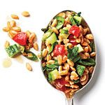 Tomato and Cucumber Farro Salad Recipe | MyRecipes.com
