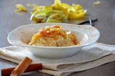 """gotuję komuś...: Waniliowa jaglanka na mleku z """"palonym"""" masłem i karmelizowanym jabłkiem.BLW"""
