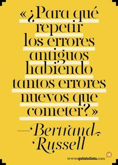 La frase del lunes, por Bertrand Russell