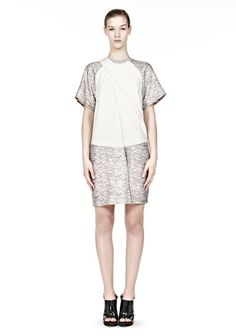 Dr. Joan Watson (Lucy Lui) looked amaz in this Alexander Wang Draped Neck T-shirt Dress. Elementary StyleID:http://styleid.info/ItemDetails.aspx?i=2016&si=22&ei=375