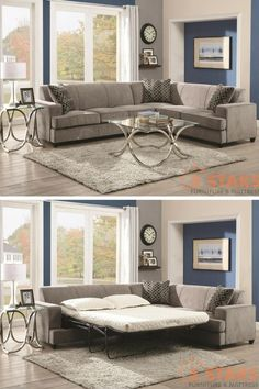Need a sleeper sofa or sofa bed to save space and accommodate sleepovers? Here's the top 10 list of the best sleeper sofas and sofa beds in Best Sleeper Sofa, Sectional Sleeper Sofa, Sofa Beds, Couches, Sofa Furniture, Living Room Furniture, Furniture Design, Living Rooms, Sofa Cumbed Design