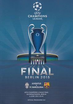 2015 UEFA CHAMPIONS LEAGUE FINAL JUVENTUS V BARCELONA