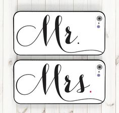 Hey, I found this really awesome Etsy listing at https://www.etsy.com/listing/182684231/wedding-phone-case-mr-and-mrs-bride-and