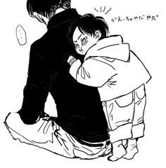 Levi and little Eren // AoT