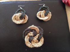 Crochet Tutorial - Water/Tear Drop Earrings - YouTube