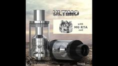 Base Rigenerabile MG RTA Ultimo by Joyetech Tutorial Rigenerazione Notch Coil Klapton  cloud chasing