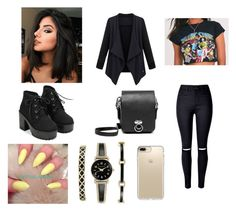 """""""rock show"""" by weirdobby on Polyvore featuring moda, UNIF, Anne Klein e Speck"""