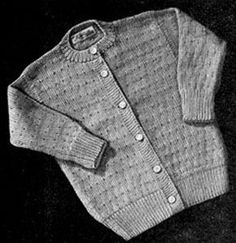 Cardigan | Free Knitting Patterns