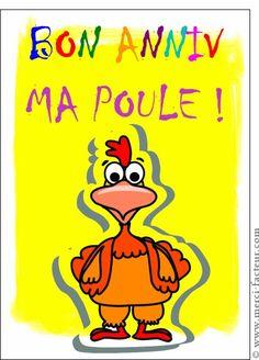 Bon Anniv Ma Poule! #anniversaire #joyeux_anniversaire #bon_anniversaire