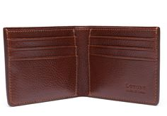LOTUFF LEATHER Leather Bifold Wallet Holiday. #lotuffleather #