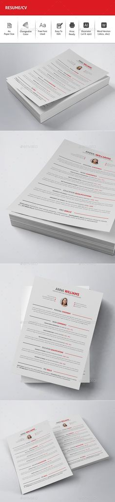 Resume word Resume words, Modern resume template and Modern resume - resume on word