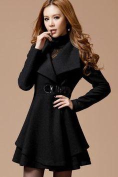 Women&39s brown Coat OL style suit Coat Long Coat Long jacket