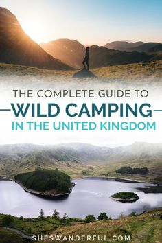Interested in wild camping in the UK but not sure where to start? Check out this complete guide. It's got all the wild camping tips you'll need to plan your trip, including where to find the best wild camping in England, Scotland and Wales and how to pick a camping spot. | Camping in England | Camping wales | Wild camping spots UK | Wild camping UK tips | Wild camping essentials | Wild camping in Wales Camping Uk, Camping Spots, Camping Tips, Travel Tips For Europe, Italy Travel Tips, Travel Destinations, London England Travel, London Travel, Backpack Europe Route