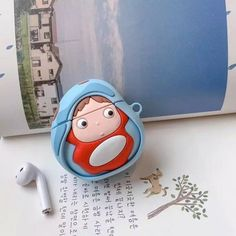 Earphone Case For Airpods Pro Case Silicone Cute Toast Stitch Cartoon Headphone/Earpods Cover For Apple Air pods Pro 3 Cases - 527 Cartoon Head, 3d Cartoon, Ponyo Anime, Stitch Cartoon, Earphone Case, Air Pods, My Neighbor Totoro, Airpods Pro, Android