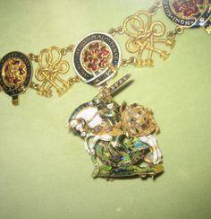 Order of the Garter - Collar (Rosenborg Slot, Copenhagen)
