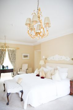 The master suite at Tankardstown House