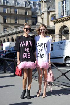 Dior SS 2016 Paris Snapped by Benjamin Kwan Paris Fashion Week