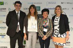 Rosa Cuscó, Lidia Codinachs, Pilar Gómez-Acebo y Edgar Jordà