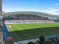 American Express Community Stadium, Falmer - home ground of Brighton & Hove Albion FC #bhafc