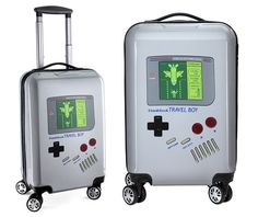 Luggage For Retro Gamers. I want this. Played some Tetris back in the day