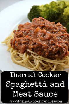 Slow Cooker Recipes, Crockpot Recipes, Cooking Recipes, Cooking Ideas, Thermal Cooking, Spaghetti Meat Sauce, Asian Recipes, Ethnic Recipes, How To Cook Pasta