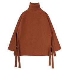 Burnt Orange Tent Sweater