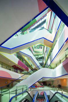 Phoenix Valley , Changzhou, 2013 - Studio 505 #stairs #colours