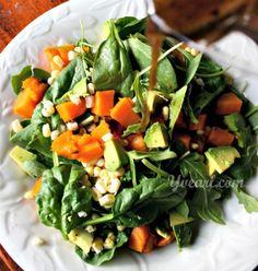 Coconut Quinoa + Spinach Salad Recipe — Dishmaps