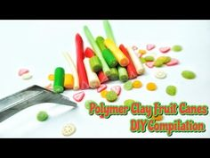 DIY Fruit Cane Tutorial : Fimo Cane Tutorial : Polymer Clay Tutorial : Andisa Charms - YouTube
